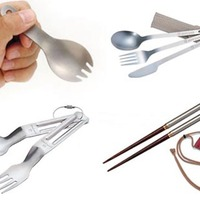 Snow Peak Backpacking Cutlery