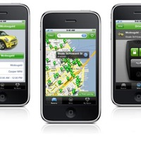 Zipcar iPhone Application