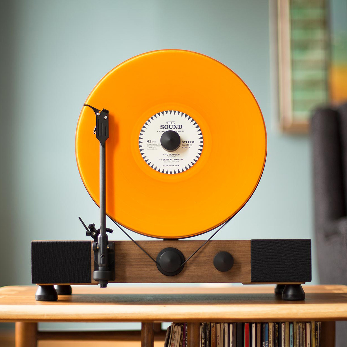 Floating Record Player Cool Hunting