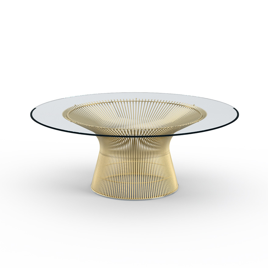 Platner coffee table cool hunting for Warren platner coffee table