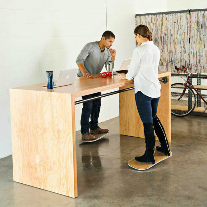 Level Brings Motion to Standing