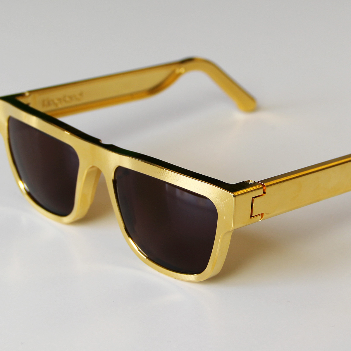 Gold Plated Glasses Frames : Gold-Plated Sunglasses - Cool Hunting
