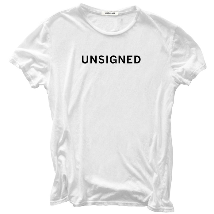 Unsigned T Shirt Cool Hunting
