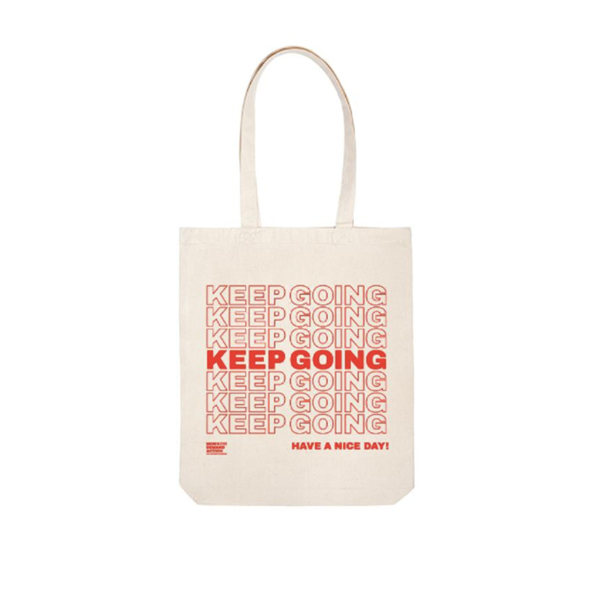Buy:  Keep Going  Tote