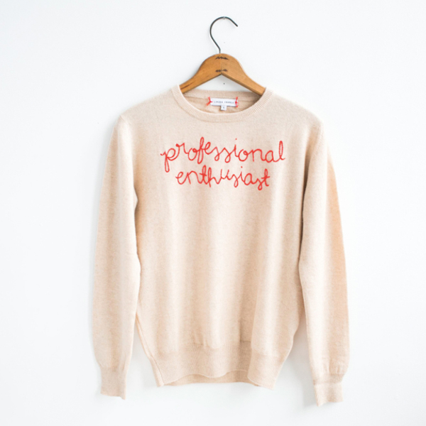 Professional Enthusiast Cashmere Sweater