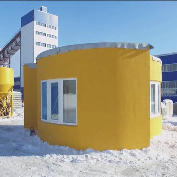 An Entire House 3D-Printed in One Day
