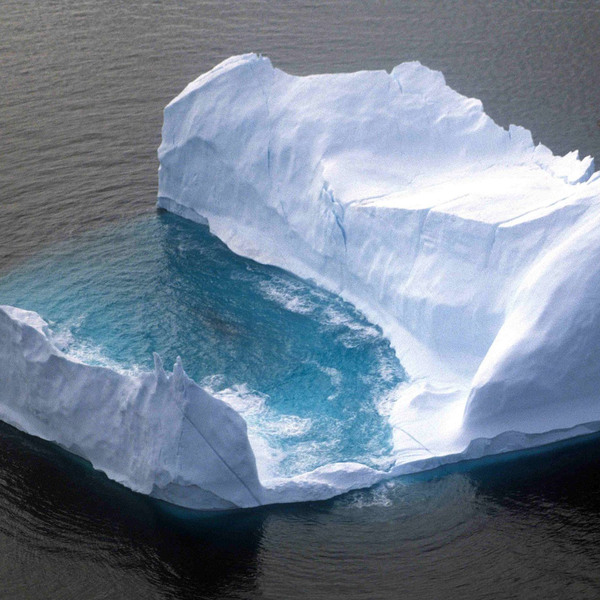The Haunting Sounds of Icebergs