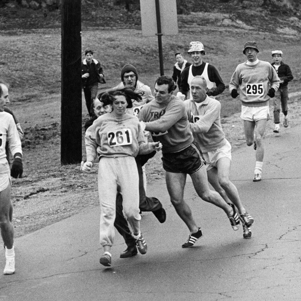 The First Woman to Run the Boston Marathon Did It Again