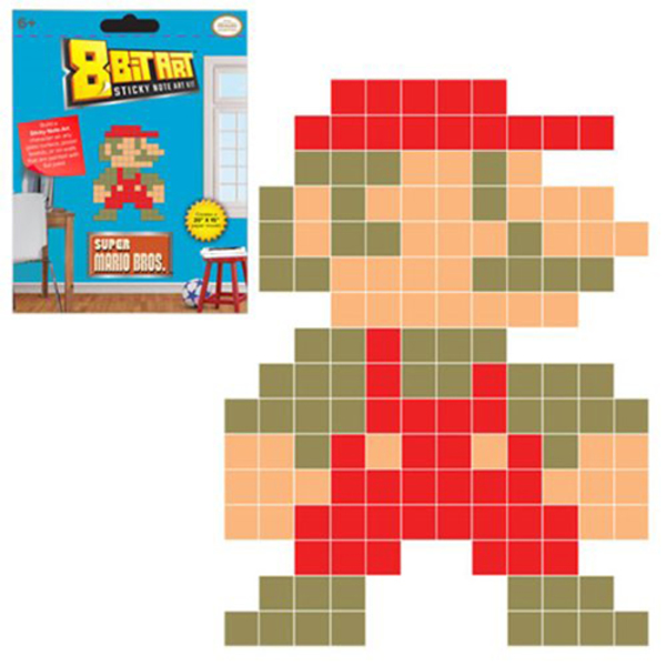 Super Mario Sticky Note Art Kit