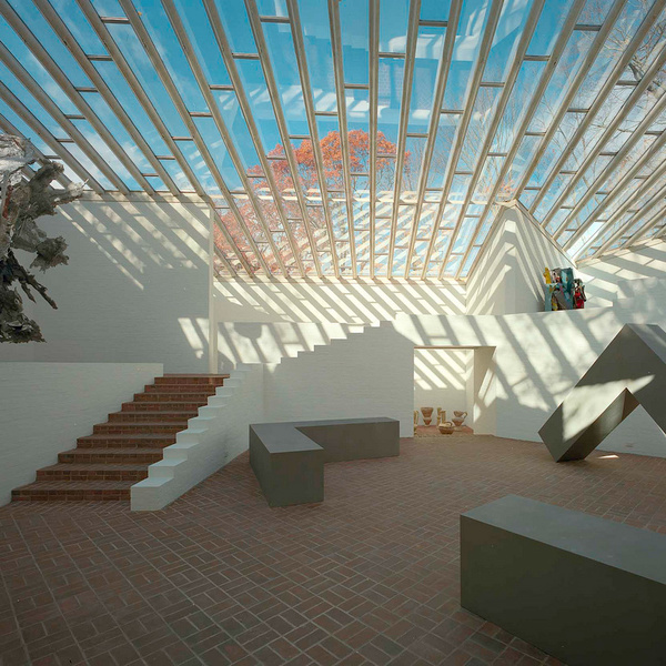 Philip Johnson Glass House Sculpture Gallery Reopens