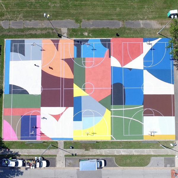 Beautifying Neglected Basketball Courts With Project Backboard