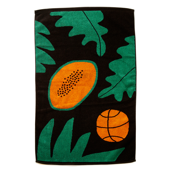 Basketball Papaya Towel