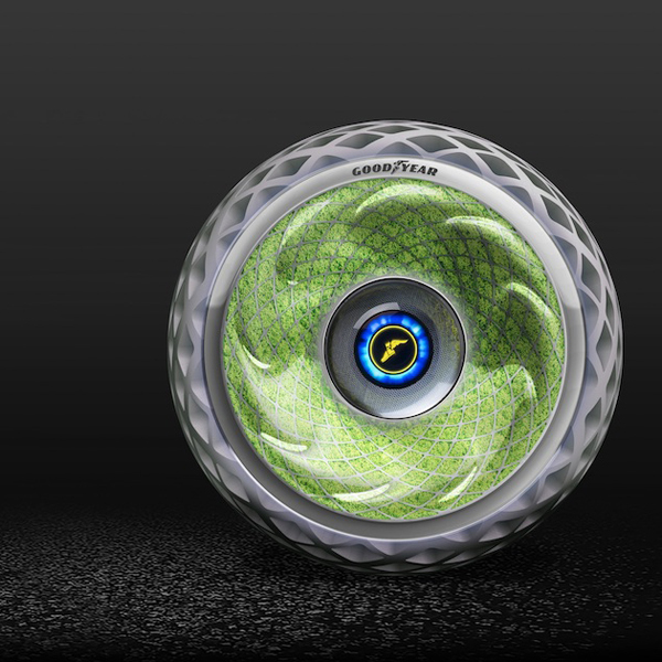 Living Moss in Goodyears Sustainable Tire Concept