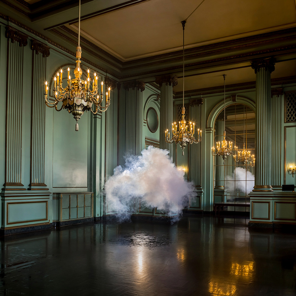 Physics, Chemistry and Art Combine for Berndnaut Smildes Installations