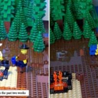 Lego Brokeback Mountain by Daniel Brown