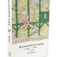 Leigh-Anne Mullock: Needlepoint Jane Austen Book Covers