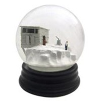 Martin and Mu&ntilde;oz Snow Globes