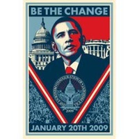 Shepard Fairey Inauguration Poster