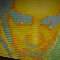 Post-It Note Mosaic