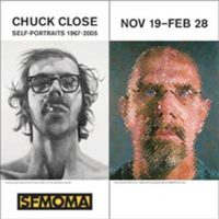 Chuck Close Self-Portraits 1967-2005: SFMOMA Banners
