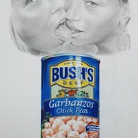 Eric Yahnker: Naughty Teens/Garbanzo Beans