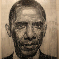 Barack Obama at Art Basel Miami Beach 2008