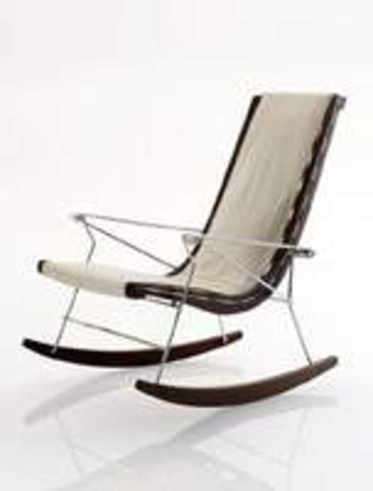 Marvelous photograph of Italia x Antonio Citterio: J.J. Rocking Chair Cool Hunting with #2E221E color and 1216x1600 pixels
