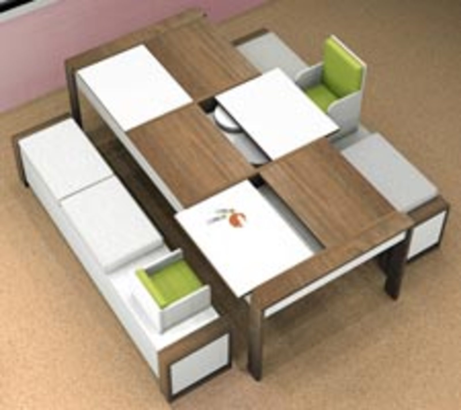 ducduc dining table cool hunting - Childrens Dining Table