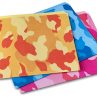 Camo File Folders
