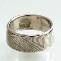 Camille Hempel Fingerprint Rings