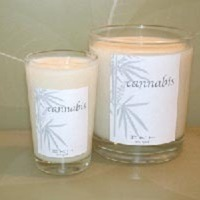 Cannabis Candles from IIKH