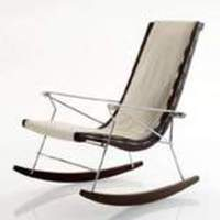 B&B Italia x Antonio Citterio: J.J. Rocking Chair