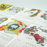 Studio On Fire 2007 Letterpress Calendar