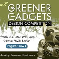 Greener Gadgets Call For Entries