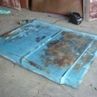 Car Hood Coffee Tables