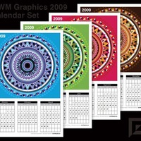 MWM Cycles & Seasons 2009 Calendar Set