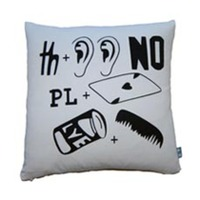 Luxury Lab Linens Rebus Throw Pillows