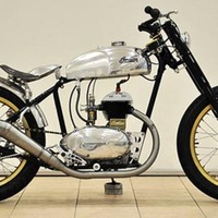 Peace Frog x Indian Motorbike
