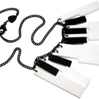 Piano Keys Necklace