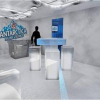 Antarctica Sub Zero Pop-Up Bar and Restaurant