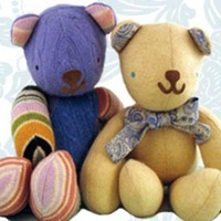 Teddylux Recycled Cashmere Stuffed Animals