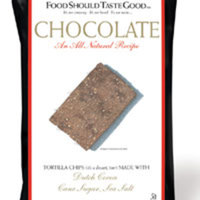 FoodShouldTasteGood's Chocolate Tortilla Chips