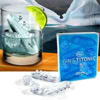Gin and Titonic Ice Cube Molds