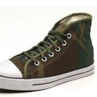 Rothco Camo Flask, Sneakers and Socks