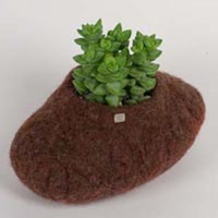 Hut Up Flowerpot