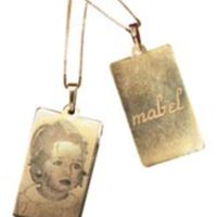 sajedesign Picture Pendants at Liz Lange