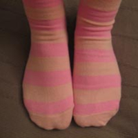 Stroke's Striped Socks