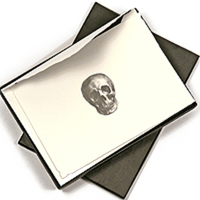 Skull Stationery by D.L. & Company