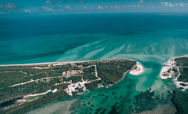 Parrot Cay Arial View