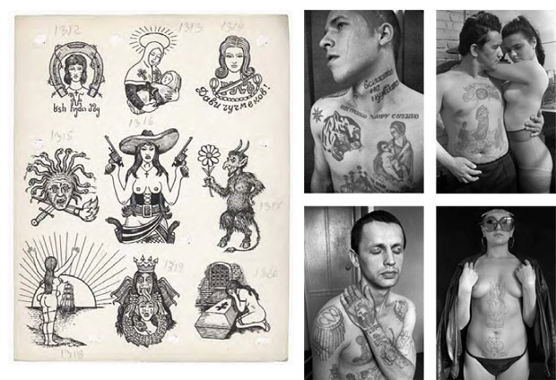 russian criminal tattoos cool hunting. Black Bedroom Furniture Sets. Home Design Ideas